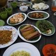 インドネシア料理が並びました♪