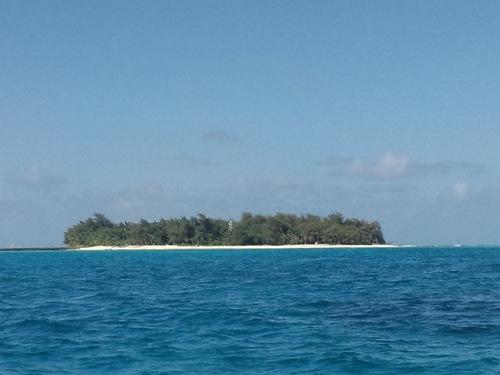 マニャガハ島 ボートから撮影