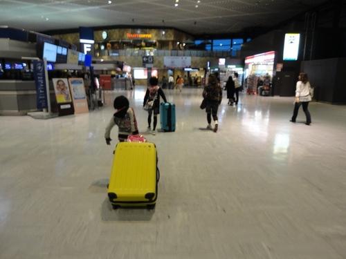 成田空港  出国です♪